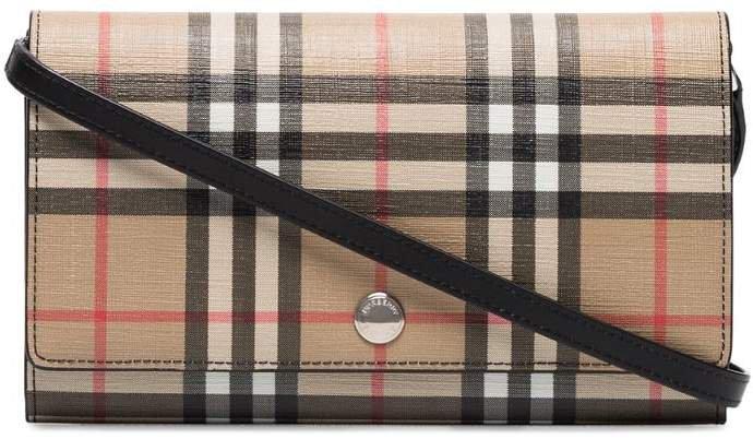 Vintage Check Hannah clutch bag