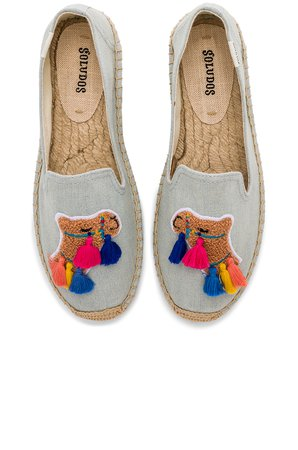 Tassel Camel Smoking Slipper