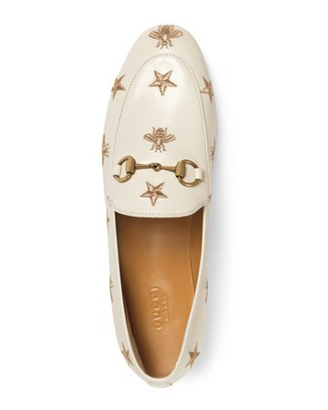 Gucci Bee Loafers