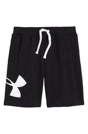 Under Armour Rival Fleece Logo Shorts (Big Boy) | Nordstrom