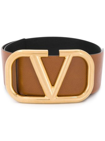 Valentino Valentino Garavani V Logo belt $995 - Buy AW19 Online - Fast Global Delivery, Price