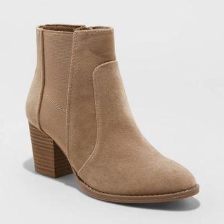 Women's Catlin Double Gore Ankle Bootie - Universal Thread™ : Target