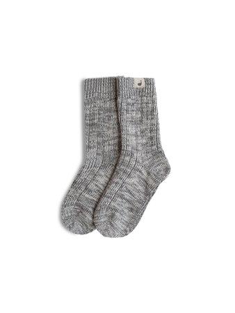 Alofi Socks Woman - Grey | Fair Fashion by TWOTHIRDS