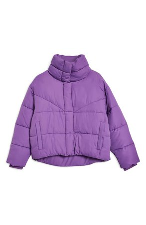 Topshop Meghan Puffer Jacket   Nordstrom
