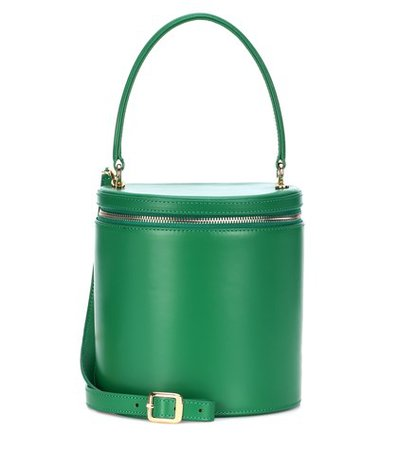 Vitti leather bucket bag