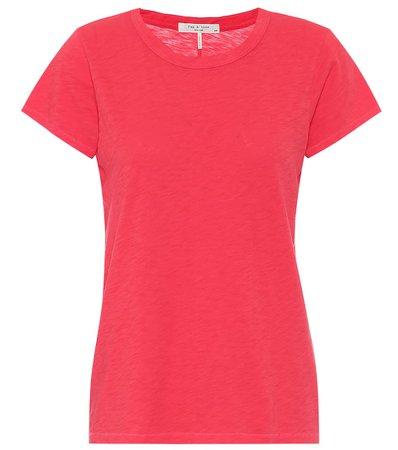 The Tee Cotton T-Shirt - Rag & Bone   Mytheresa