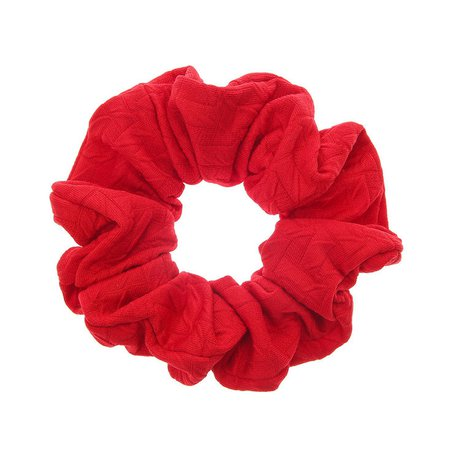 Large Red Scrunchie