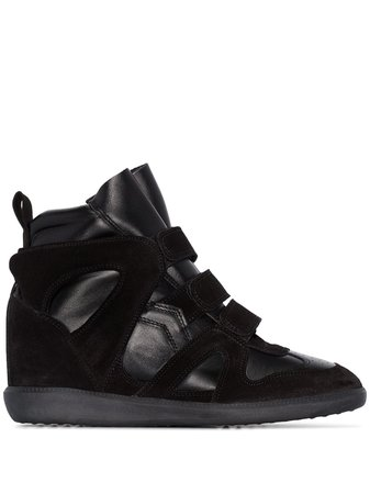 Isabel Marant Buckee Wedge Sneakers - Farfetch