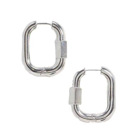 ASOS silver earrings