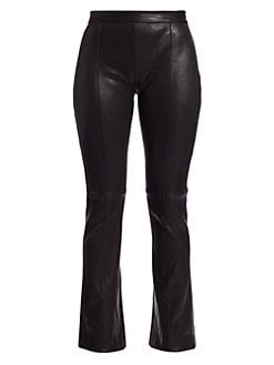 Adam Lippes Leather Pants