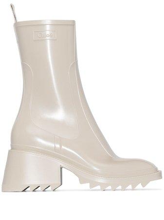 Chloé Betty 70mm rain boots - FARFETCH