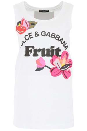 Dolce & Gabbana Fruit Tank Top