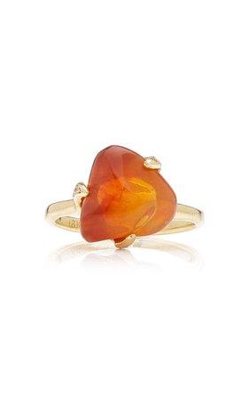 Tumbled Opal 18k Yellow Gold Ring By M.spalten | Moda Operandi