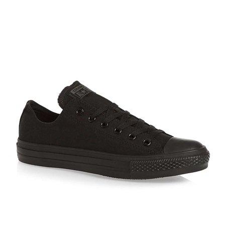 black converse shoes