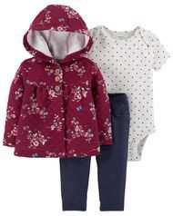 Baby Girl 2-Piece Dress & Legging Set | Carters.com