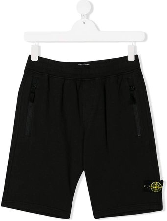 Junior logo patch shorts