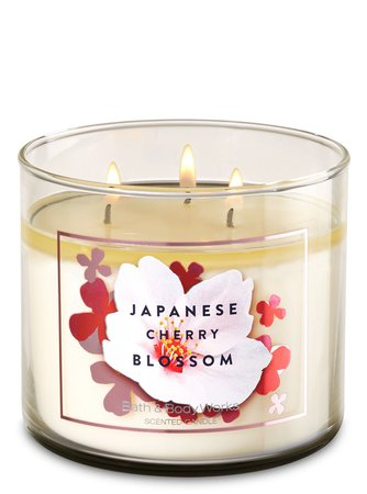 Japanese cherry blossom scented candle