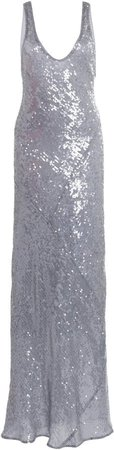 Galvan Valletta Sequined Gown