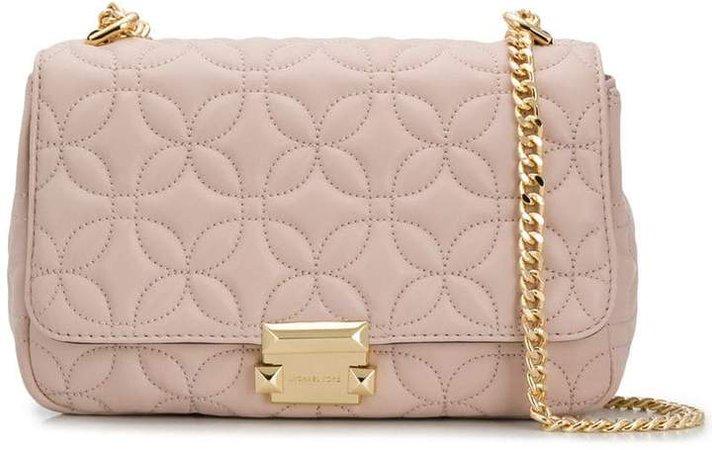 Sloan Floral Quilted shoulder bag
