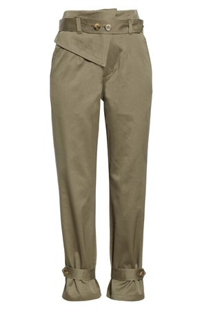 TRAVE Kennedy Belted Tapered Pants | Nordstrom