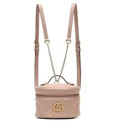 Gg Marmont Mini Leather Backpack   Gucci - Mytheresa