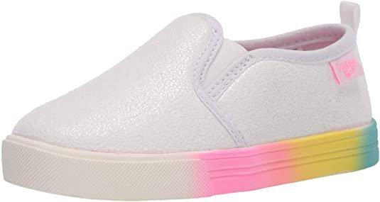 Amazon.com | OshKosh B'Gosh Toddler and Little Girls Maeve Casual Slip-On Shoe | Sneakers