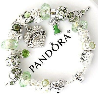Light Green Pandora Bracelet