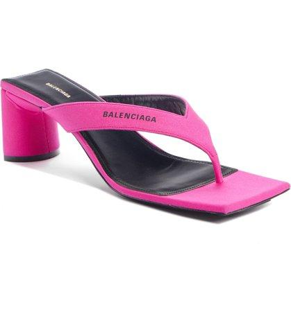 Balenciaga Square Toe Sandal (Women)   Nordstrom