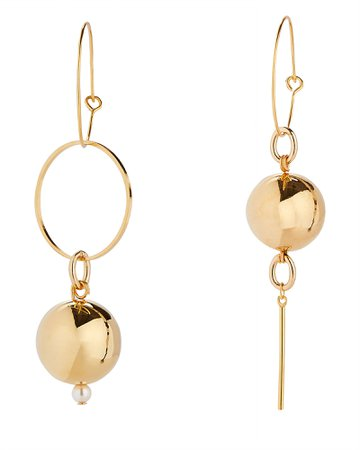 MOUNSER | Solar Mini Hoop Earrings | INTERMIX®
