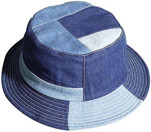 Bucket Sun Hat Women Packable Fisherman Denim Floppy Hats at Amazon Women's Clothing store