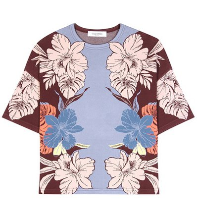 mytheresa.com online exclusive printed top