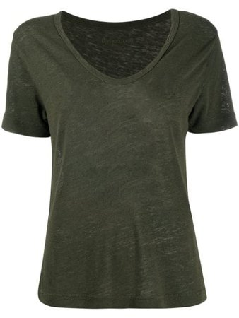 Green Zadig&Voltaire jersey T-shirt WJTS7402F - Farfetch