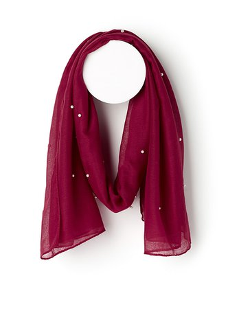 Sophisticated pearled scarf | Simons | Shop Women's Light Scarves online | Simons