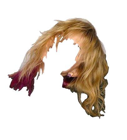 blonde berry hair