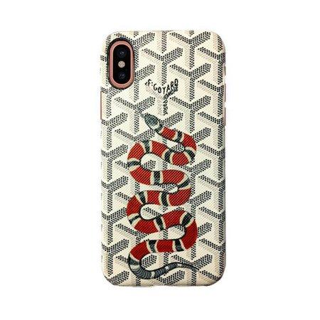 goyard iphone x - case