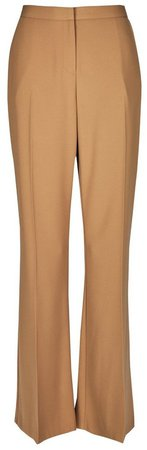 Camel Bootcut Trousers