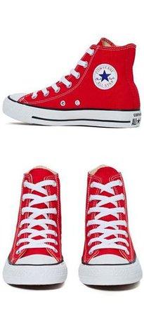 Pinterest (red high top converse) (84)