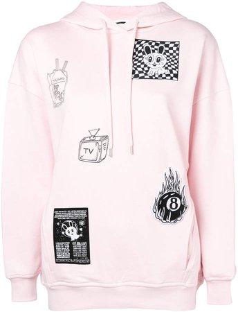 patch detail sweatshirt