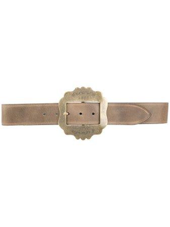 Isabel Marant Awele Leather Belt Aw20 | Farfetch.Com