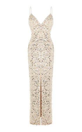 Sleeveless Sequined Dress By Rasario | Moda Operandi