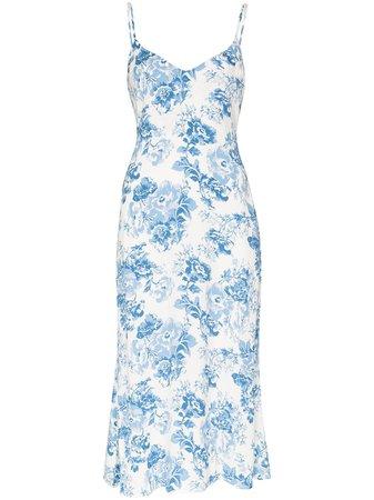 Reformation Chianti floral-print Slip Dress - Farfetch
