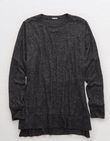 Aerie Plush Hometown Sweatshirt, Olive Fun | Aerie for American Eagle