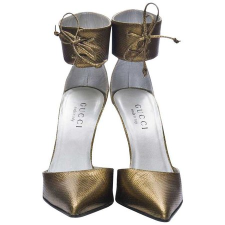 New Size 36 Tom Ford for Gucci Kate Moss Ad Runway Heels Pumps For Sale at 1stdibs