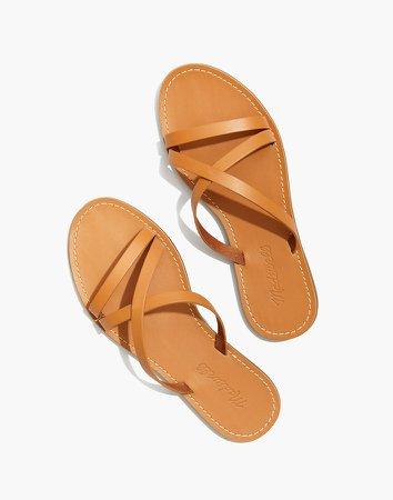 The Boardwalk Skinny-Strap Slide Sandal