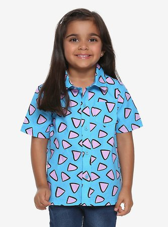 Rocko's Modern Life Toddler Woven Button-Up