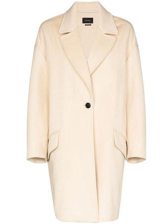 Isabel Marant Dropped Shoulder Cocoon Coat - Farfetch