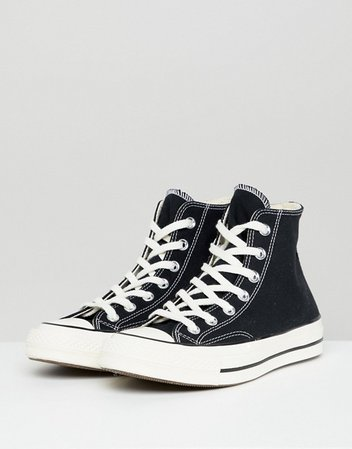 Converse Chuck 70 Hi sneakers in black | ASOS