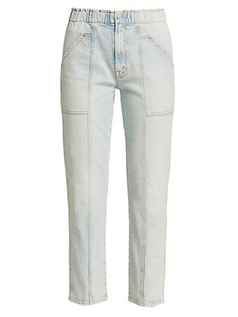 Mother The Springy Ankle Jeans | SaksFifthAvenue