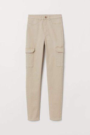 Cargo Pants - Beige
