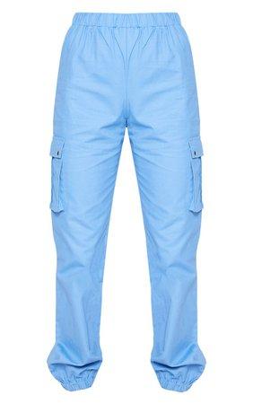 Black Pocket Detail Cargo Pants   PrettyLittleThing USA